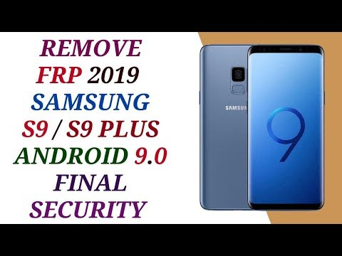 remove frp samsung s9/s9+ version 9 without pc 13