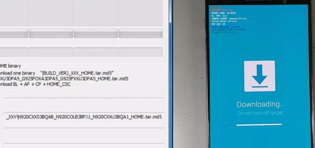 rom combination n920c u5 in flash file repair - frp done