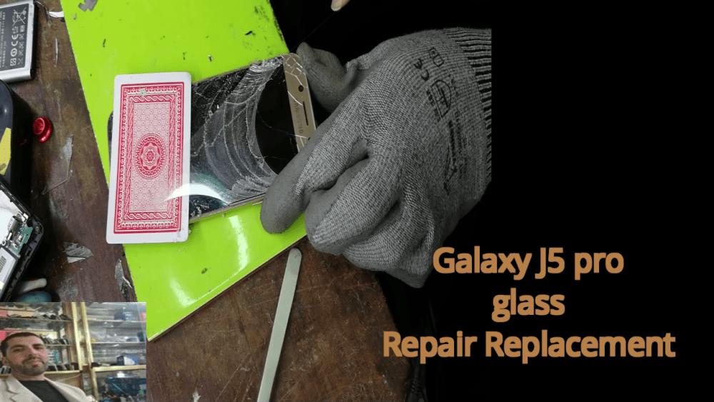Glass Only Repair Replacemen j5 pro new methode 2