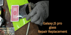 Glass Only Repair Replacemen j5 pro new methode