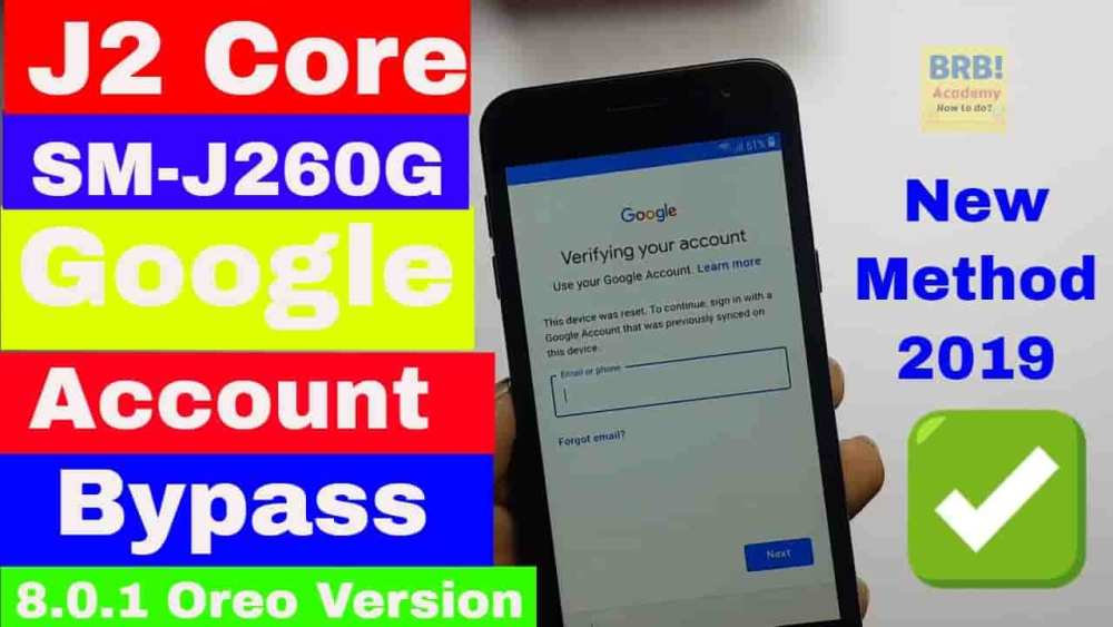 How To Remove samsung j260g frp bypass 2