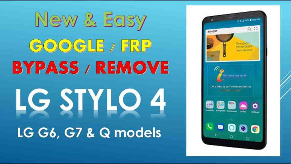 How to Remove lg stylo 4 frp bypass 2019 2