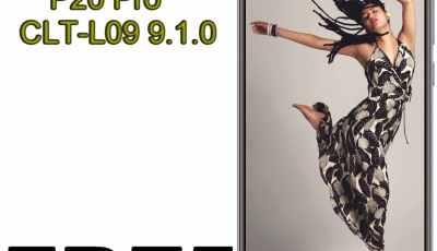 FREE Remove frp Huawei P20 Pro CLT-L09 9.1.0 DOWNGRADE