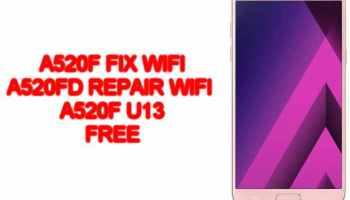 a520f u13 fix REPAIR wifi