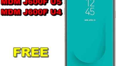 Free file remove mdm j600f u5 and mdm j600f u4