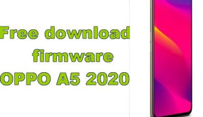 Free download firmware OPPO A5 2020 update
