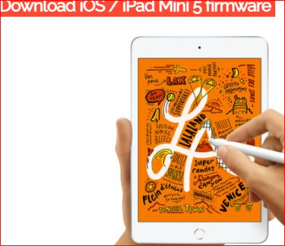 iPad Mini 5 firmware update
