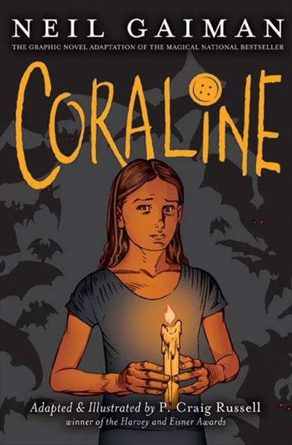 Coraline: The Graphic Novel, illustrated by P. Craig Russell