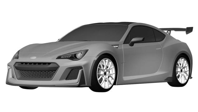 Subaru BRZ STI Patent Brings Us One Step Closer To a Turbo BRZ