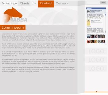 Nabba weboldal design készítés 2015