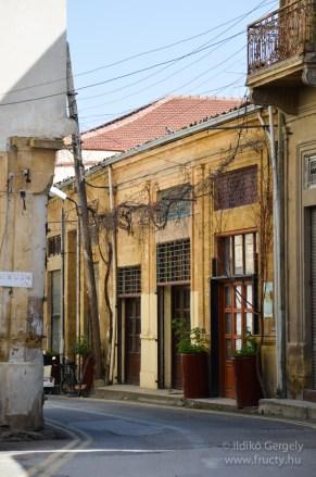 Ciprusi török utcák