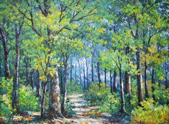 5063988-oil-painting-picture-on-canvas-of-a-walkway-in-forest-drawing