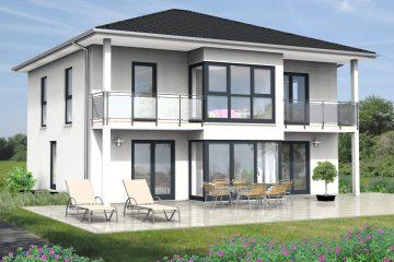 Ökohaus der Woche KW 49/2017. Walmdachhaus ,SI-Residenz 170 B