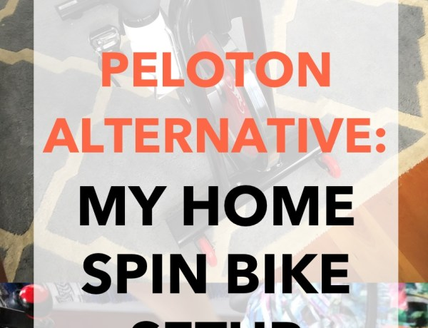 Peloton Alternative - My Home Spin Bike Setup