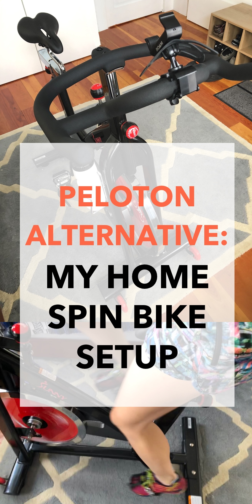 Peloton Alternative - My Home Spin Bike Setup