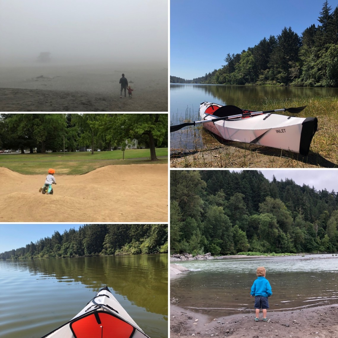 Oru Kayak, Camping at the Coast, Sandy River Play