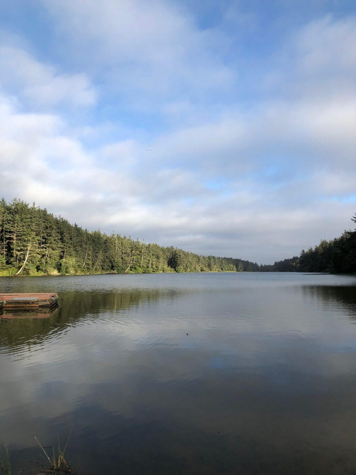 Coffenbury Lake at Fort Stevens
