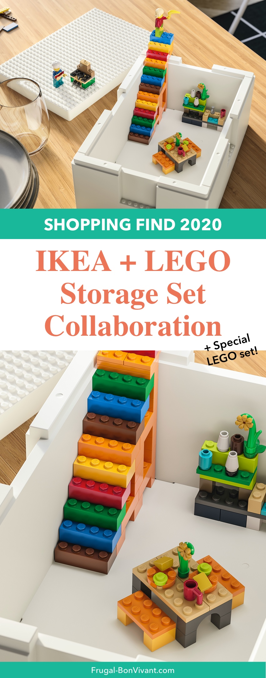 LEGO IKEA Storage set box BYGGLEK
