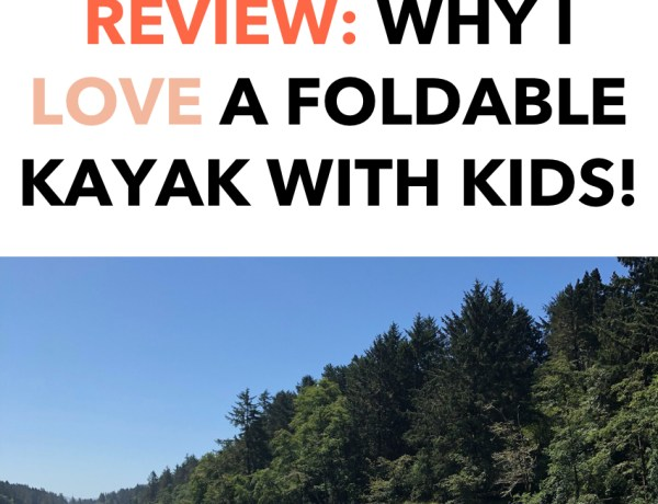 Oru Kayak review - Why I love a foldable kayak with kids and pets