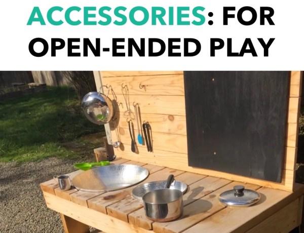 mud kitchen accessories