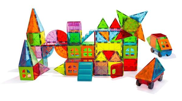 Magna tiles metropolis set