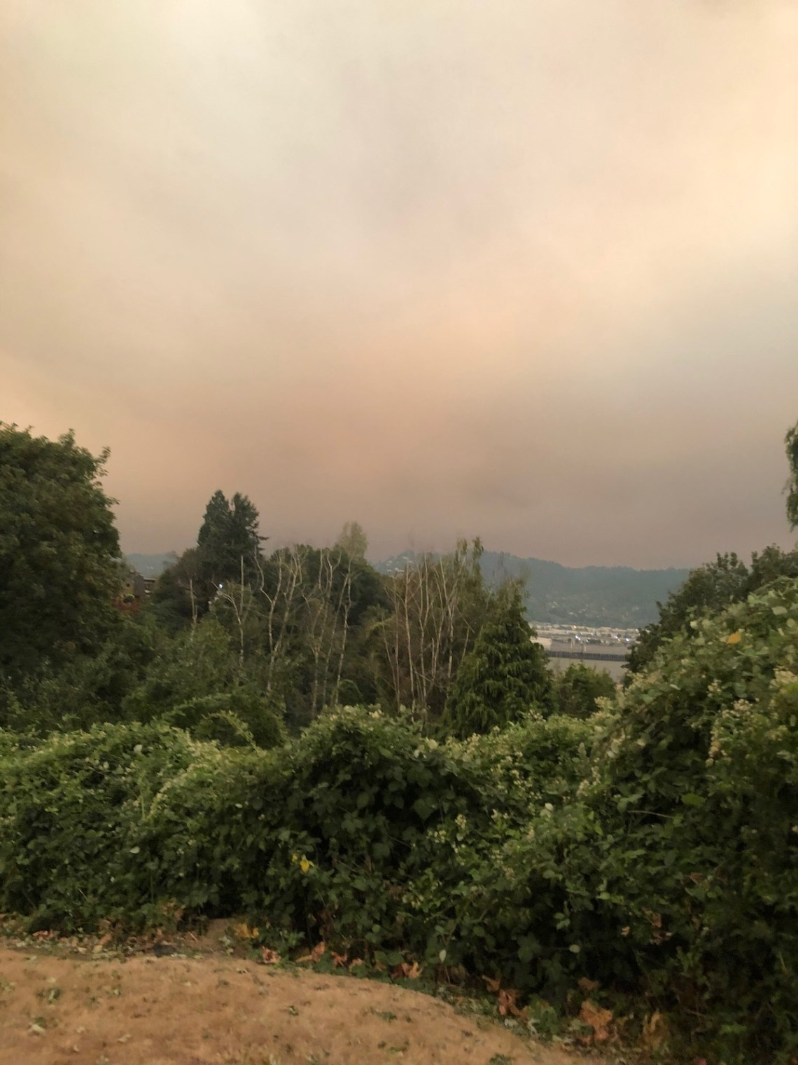 oregon wildfire smoke