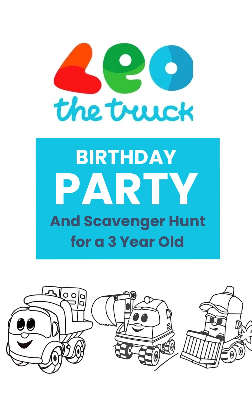 Leo the Truck birthday party