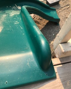 screws for deck slide install