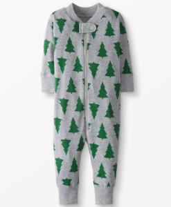 hanna andersson christmas jammies trees