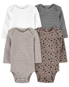 baby long sleeve bodsuits