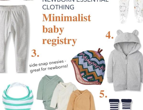 Newborn Essential clothing