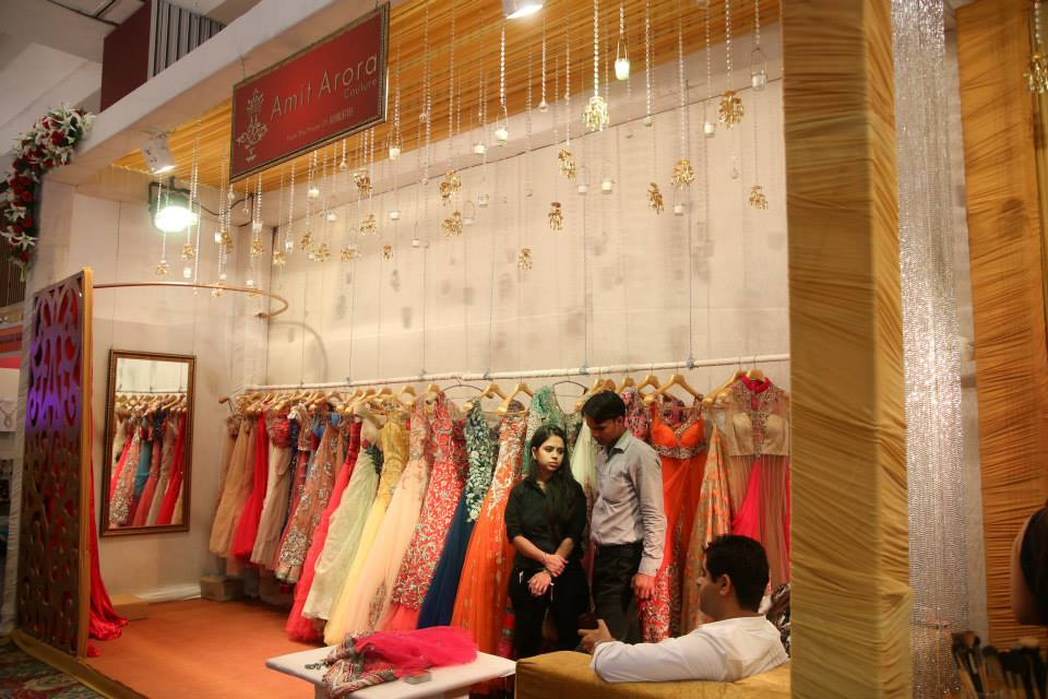 Lehengas & Gowns at the Exhibition