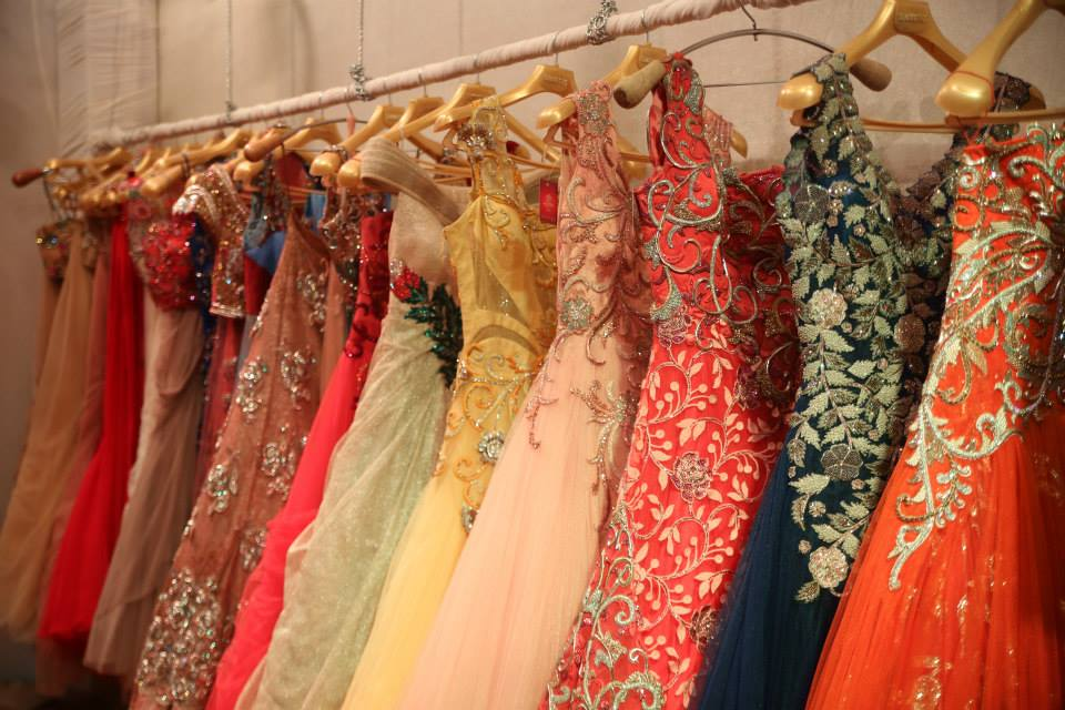 Lehengas & Gowns seen at the Exhibition