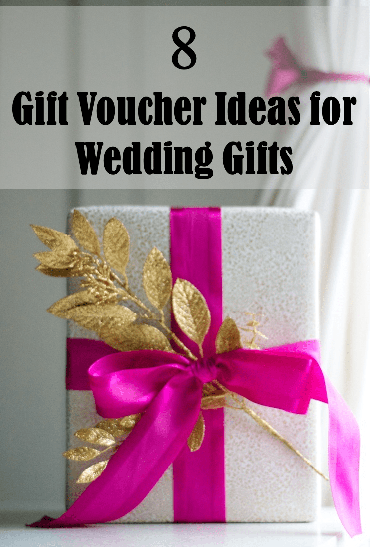 8 Gift Voucher Ideas for Wedding Gifts - Frugal2Fab