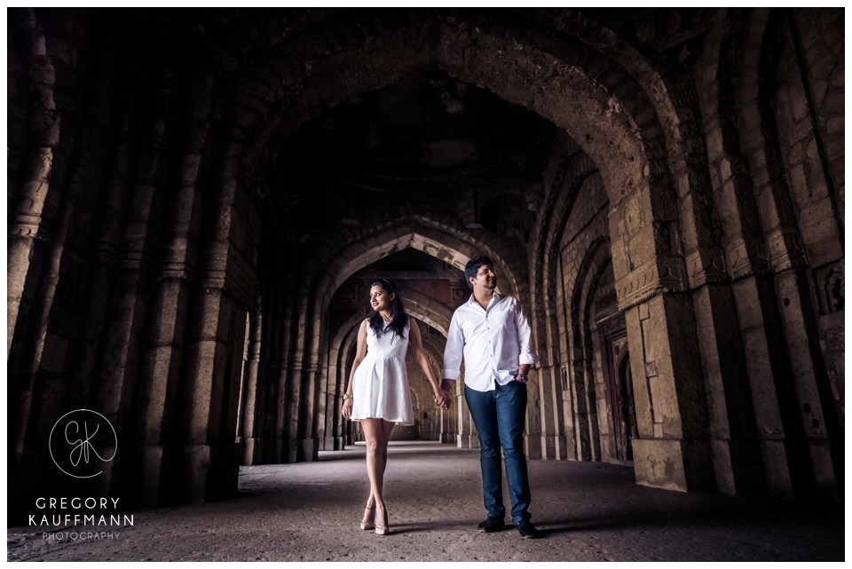 Pre-wedding photoshoot locations - Mehrauli Archaeological Park