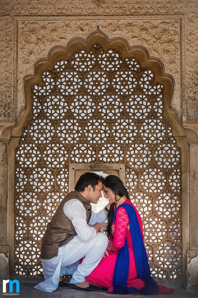Amer Fort PreWedding Photoshoot Paradise