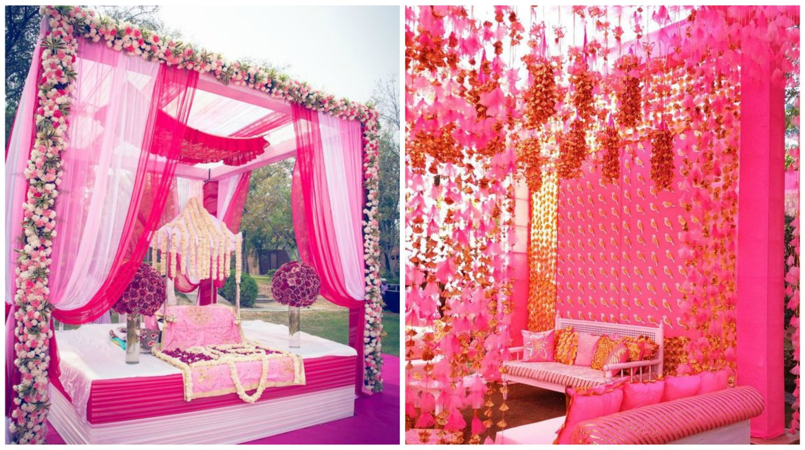 Pink Wedding Color Theme