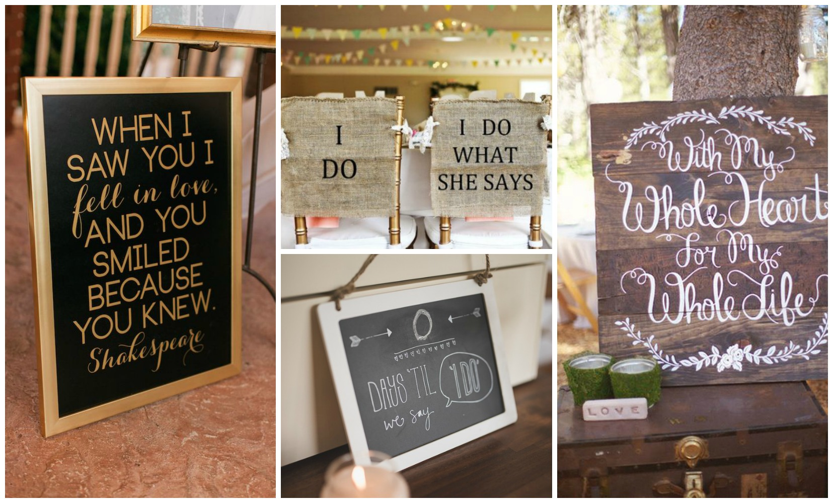 Wedding Signs`