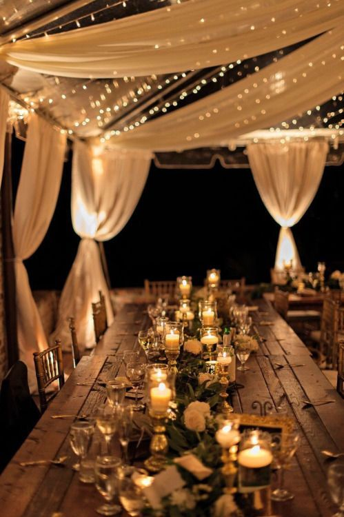 12 ways to use Fairy Lights in your Wedding Decor - Frugal2Fab