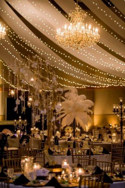 Fairy Lights Wedding Decor