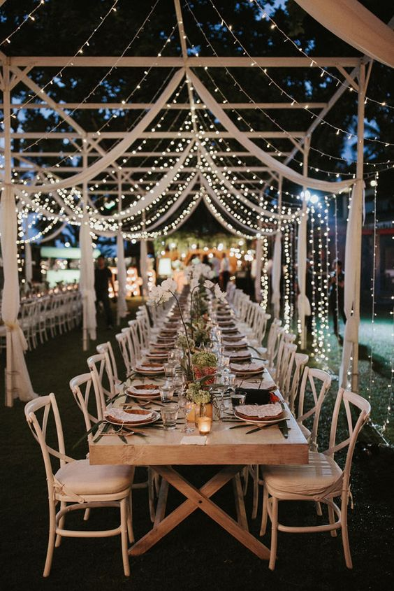 12 Reception Seating Area Decor Fairy Lights Wedding