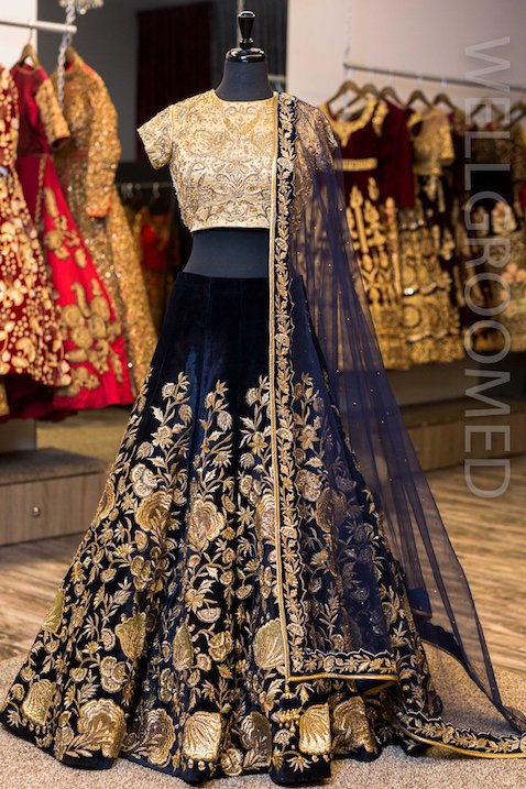 Beautiful Bridal Lehengas Cost