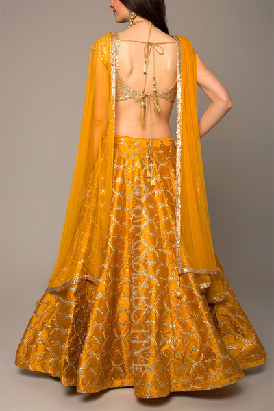Honey Silk Lehenga