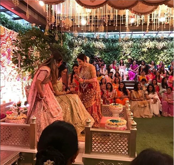 Akash Shloka Engagement