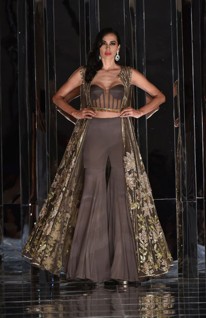 Brown Lehengas
