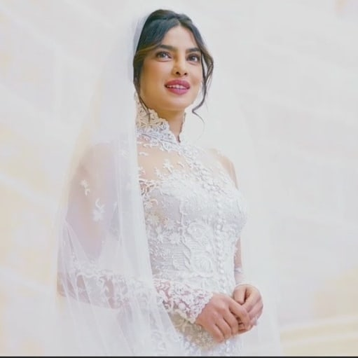 Priyanka Chopra's First Wedding Pictures