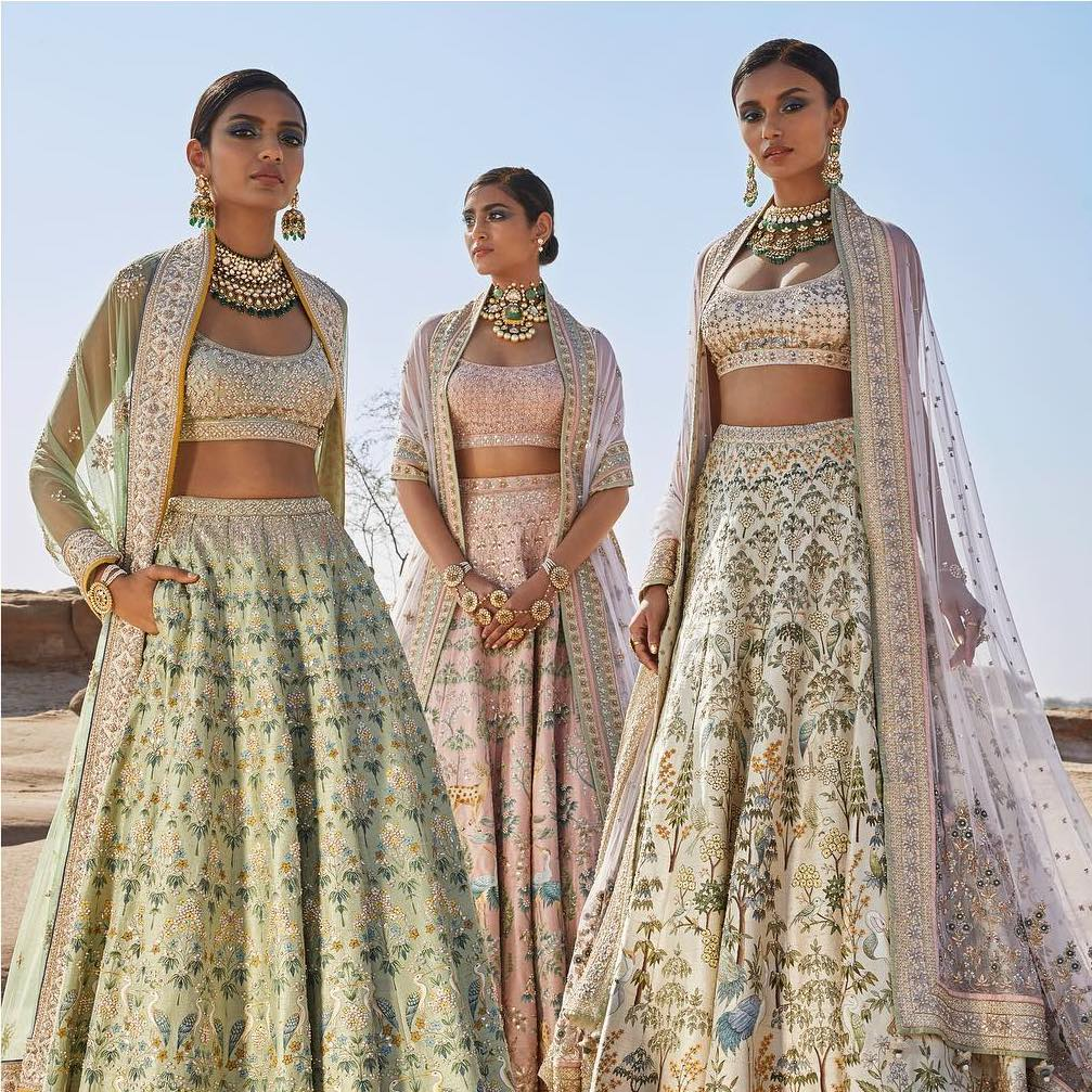 40e5980f24f9 15 Anita Dongre Lehengas For Spring Summer 2019 + PRICES - Frugal2Fab