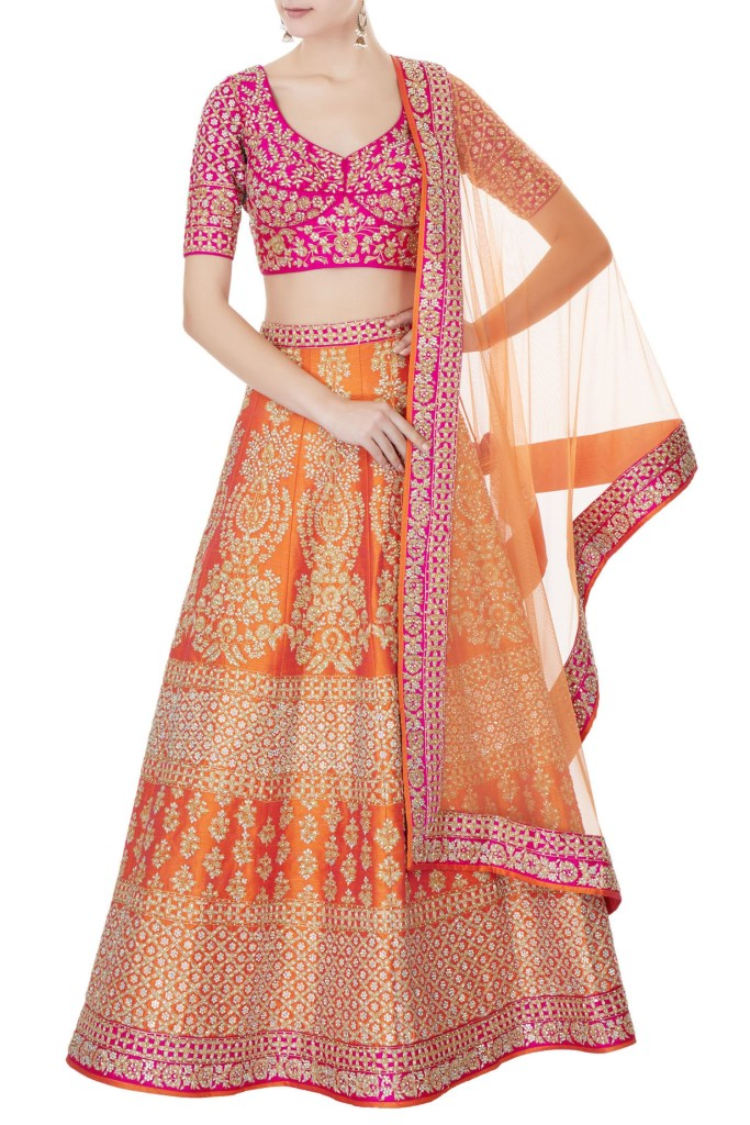 Wedding Lehenga Under 1 Lakh