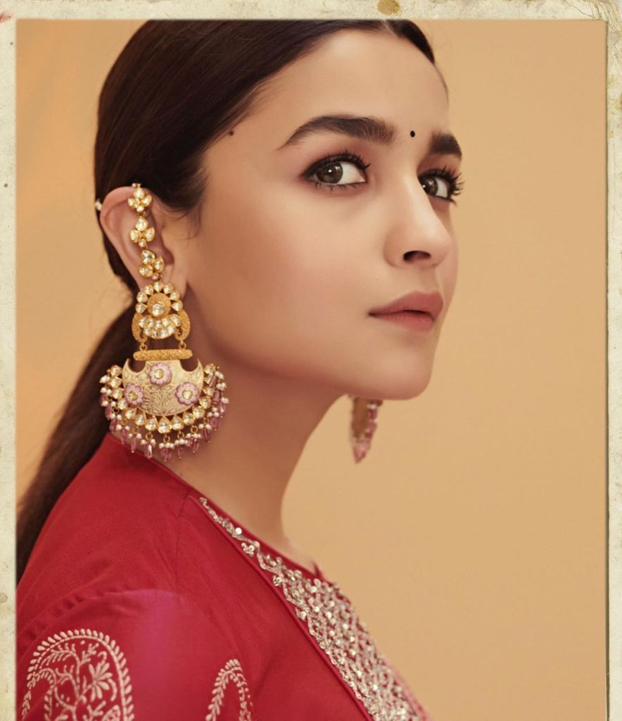Alia Bhatt's Indian Looks
