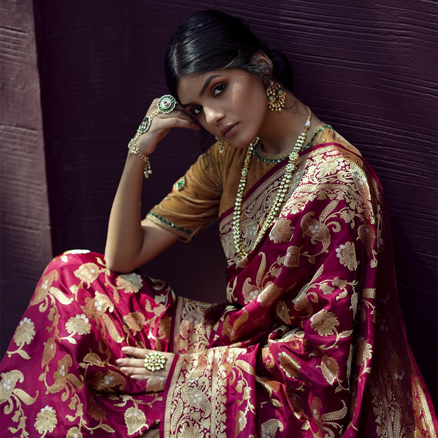 Banarasi Saree Shopping Delhi